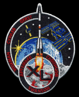 International Space Station Expedition 40 Embroidered Patch